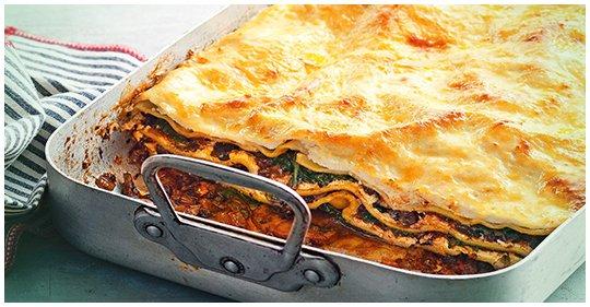 Spinat-Lasagne – Lecker vegetarisch Geschickt abgewandelt