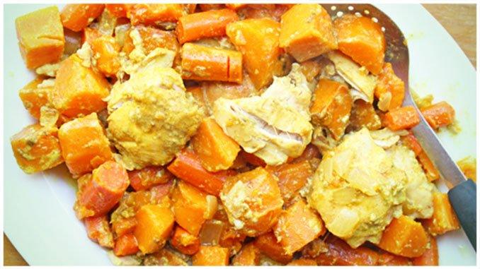 Hähnchencurry mit schneller Zubereitung