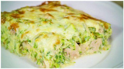 Zucchini-Auflauf schnell zubereitet, immer wieder ein Genuss